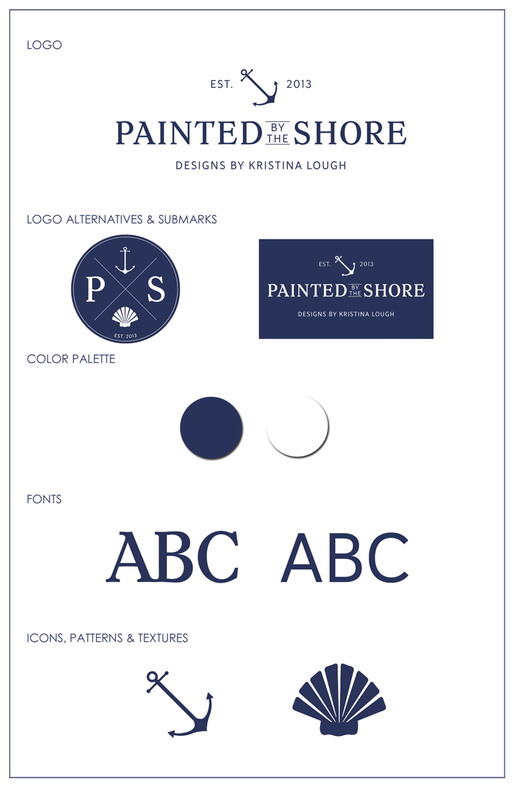 Cyn Thomas Design Style-Guide-Painted-by-the-Shore
